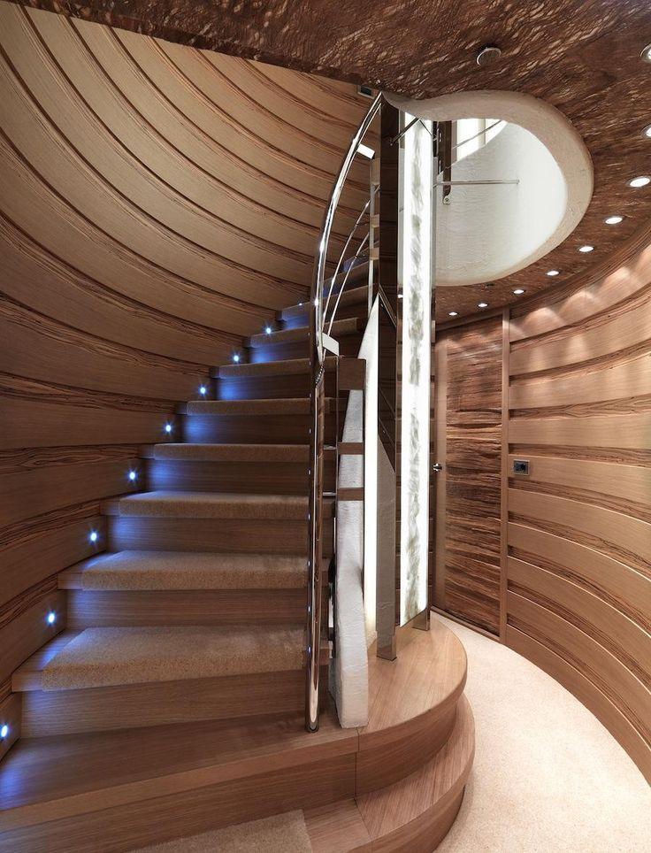Como iluminar la escalera lamparas sevilla - Iluminacion de escaleras ...