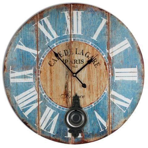 reloj de pared estacion