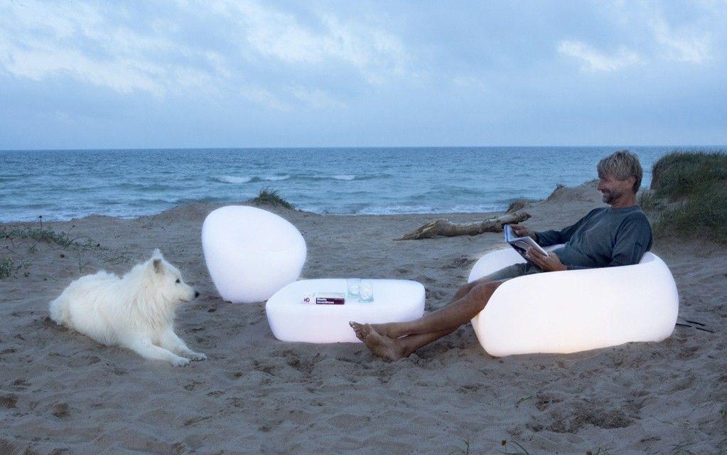 muebles con luz chill out