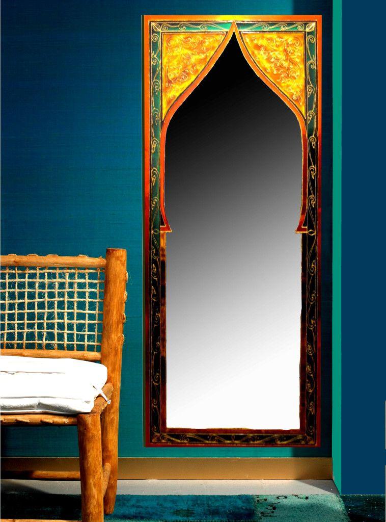 espejo casablanca, vitral