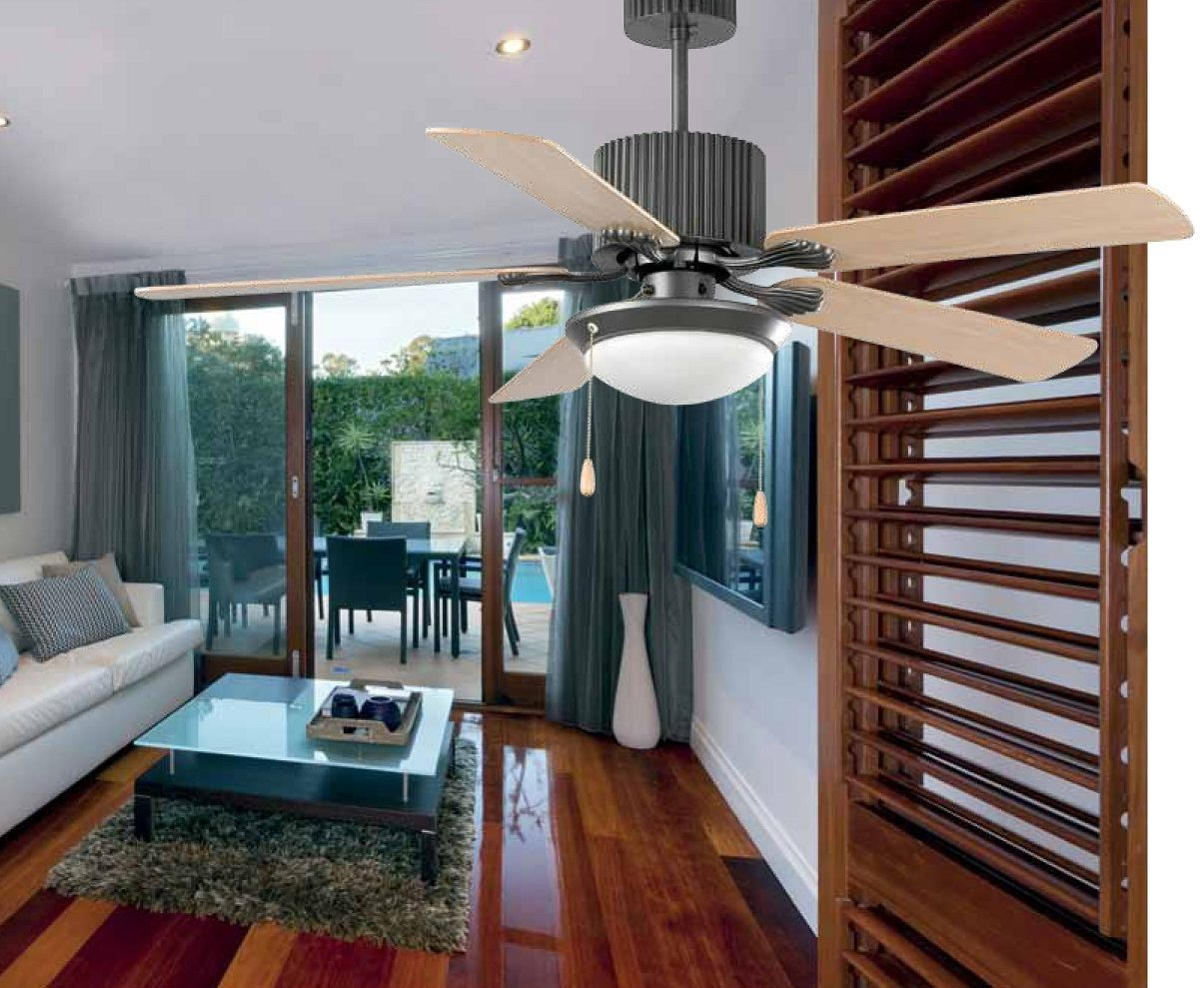 Ventiladores de techo te ayudo a elegir tu l mpara - Lamparas techos altos ...