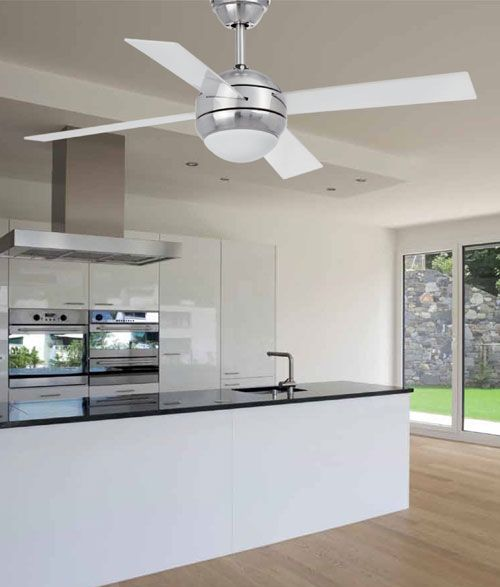 ventilador de techo blanco