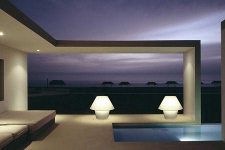 lamparas mesa exterior
