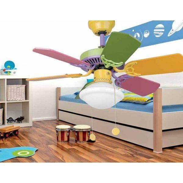 ventilador dormitorio infantil
