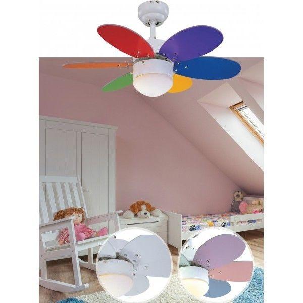 ventilador infantil dormitorio