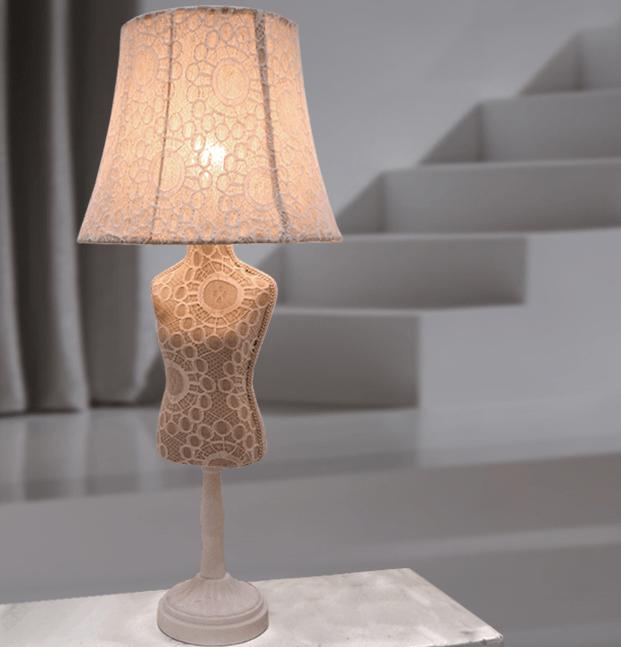 lampara de mesa maniqui vogue