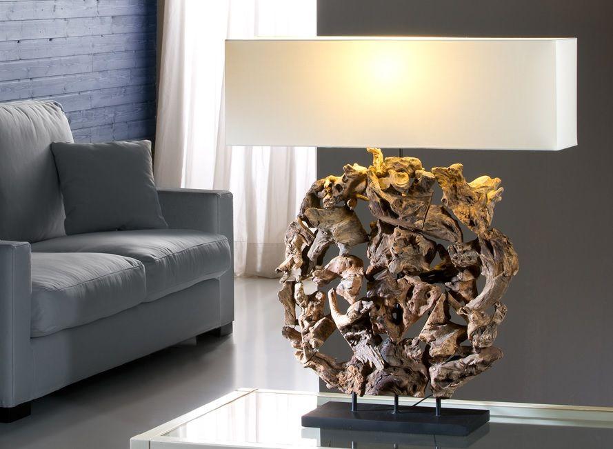 lamparas de mesa escultura