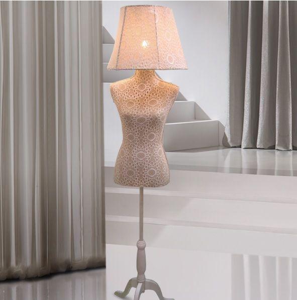 lampara de pie de salon maniqui vogue