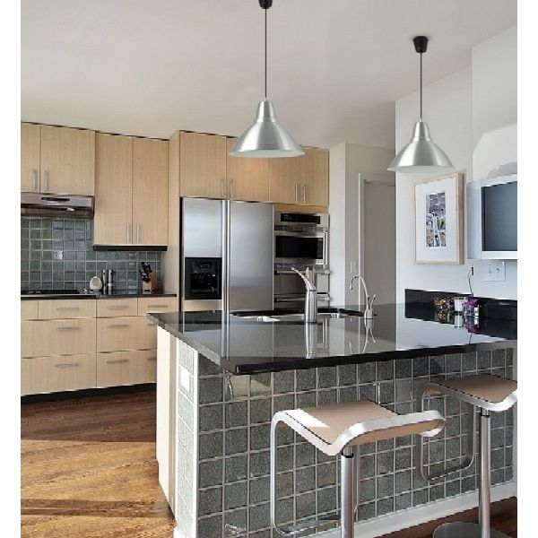 L mparas colgantes para tu cocina cu l es tu color - Lampara para cocina ...