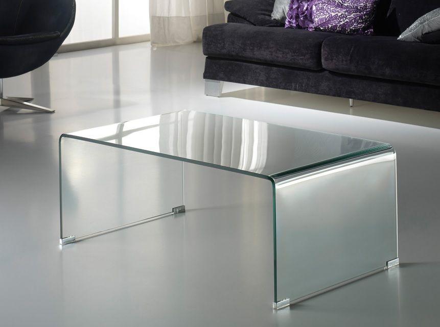 mesas de cristal templado y curvado muebles auxiliares de
