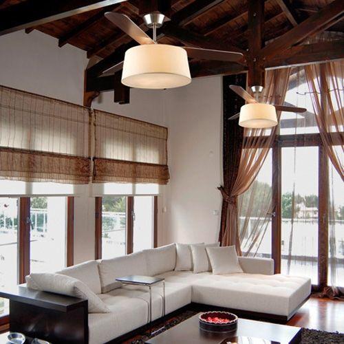 Ventiladores de techo de dise o lo ltimo en l mparas - Lamparas de techo con ventilador ...