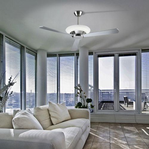 ventiladores de techo luz fluorescente