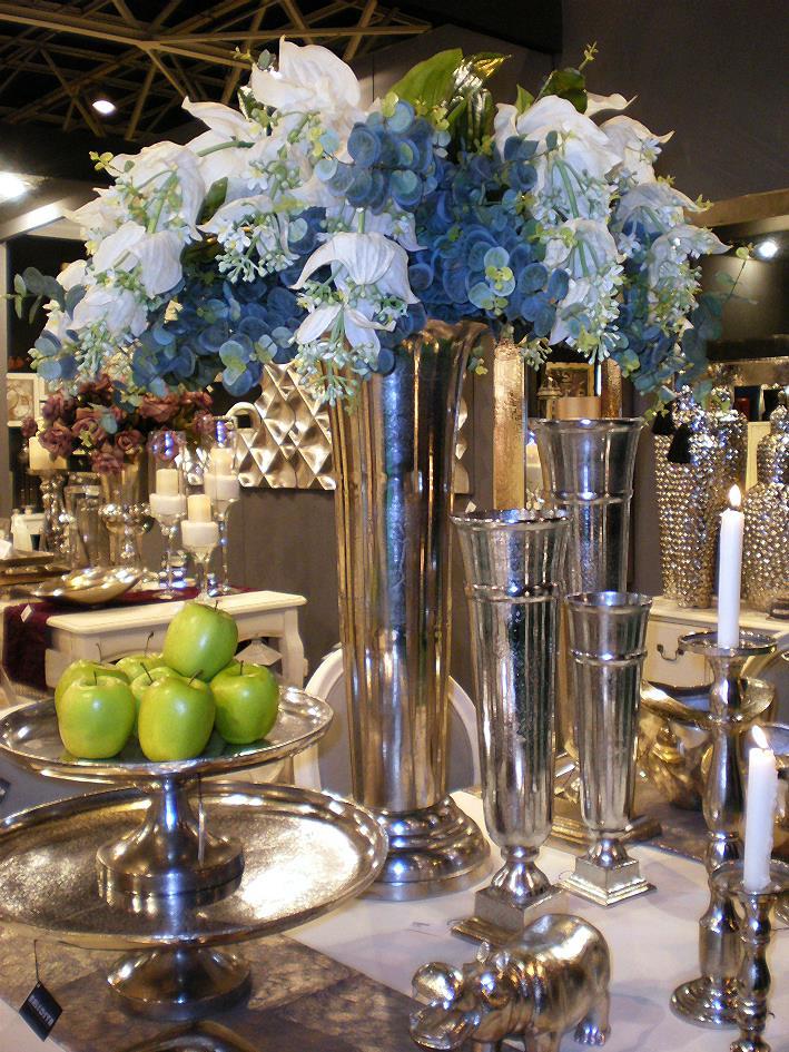 Decoracin con Flores Artificiales es Tendencia Lamparas sevilla