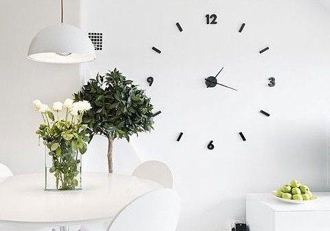 Tendencias en decoraci n renueva tu casa este verano - Reloj de pared adhesivo ikea ...