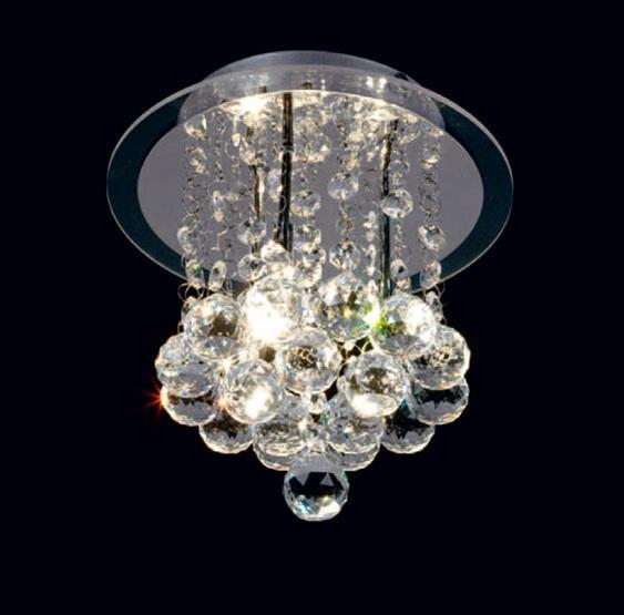 plafones redondo crystal de mantra iluminación