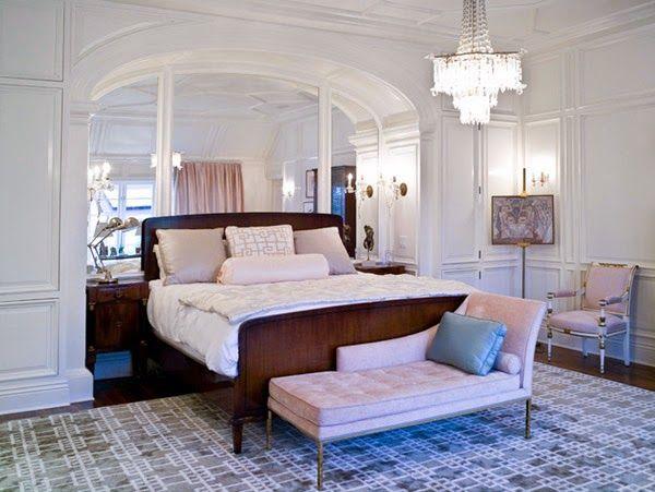 lamparas estilo clasico para dormitorio