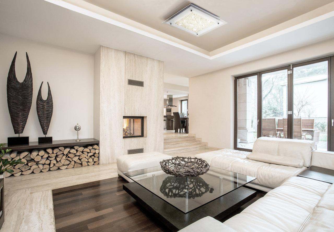 plafon de techo de mantra iluminación modelo crystal