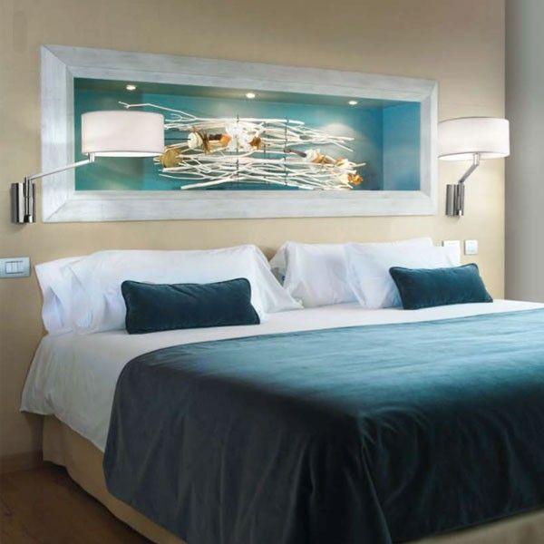 Apliques para el cabecero de la cama ilumina tus lecturas for Lamparas cabezal cama