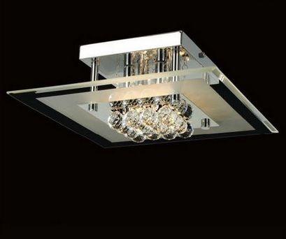 L mparas y plafones colecci n crystal de mantra - Iluminacion techo leroy merlin ...