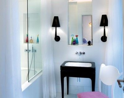 Consejos para iluminar el espejo del ba o a todas luces - Lamparas para espejo de bano ...