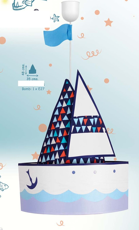 Lámparas para niños barco