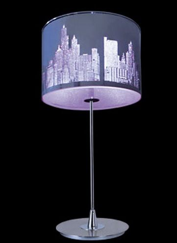 New york en tusl mparasonline l mparas led rgb lamparas sevilla - Lamparas de sobremesa para salon ...