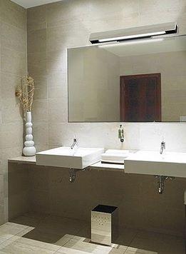 Consejos para iluminar el espejo del ba o a todas luces - Iluminacion led para banos ...