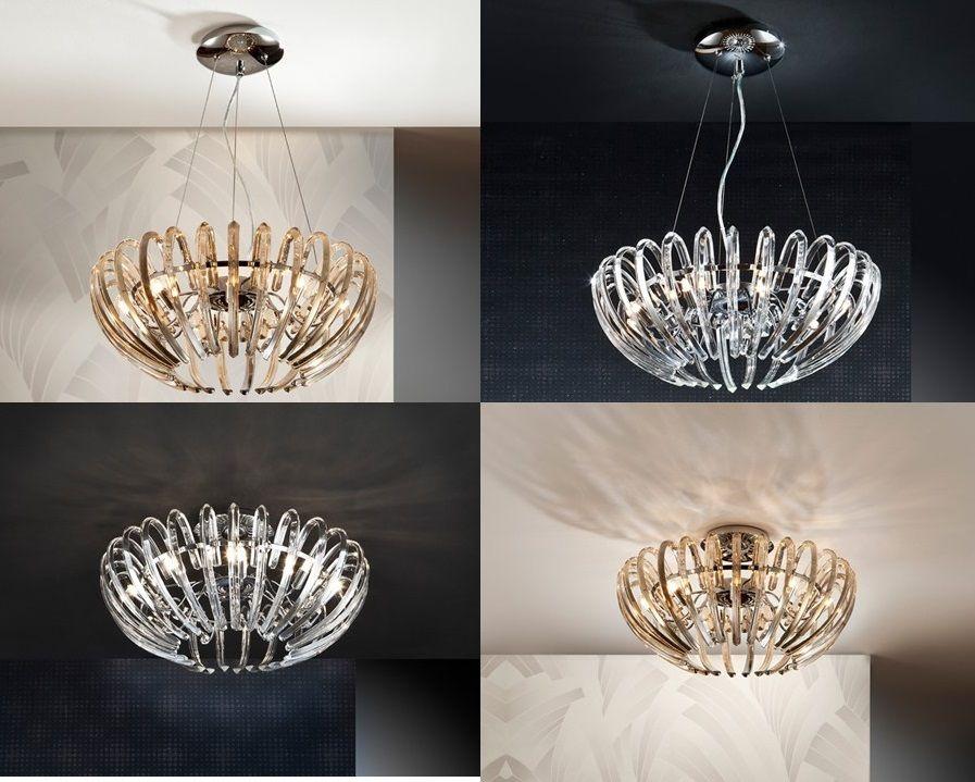Lámpara Ariadna de Schuller Iluminación, a la Luz del Cristal