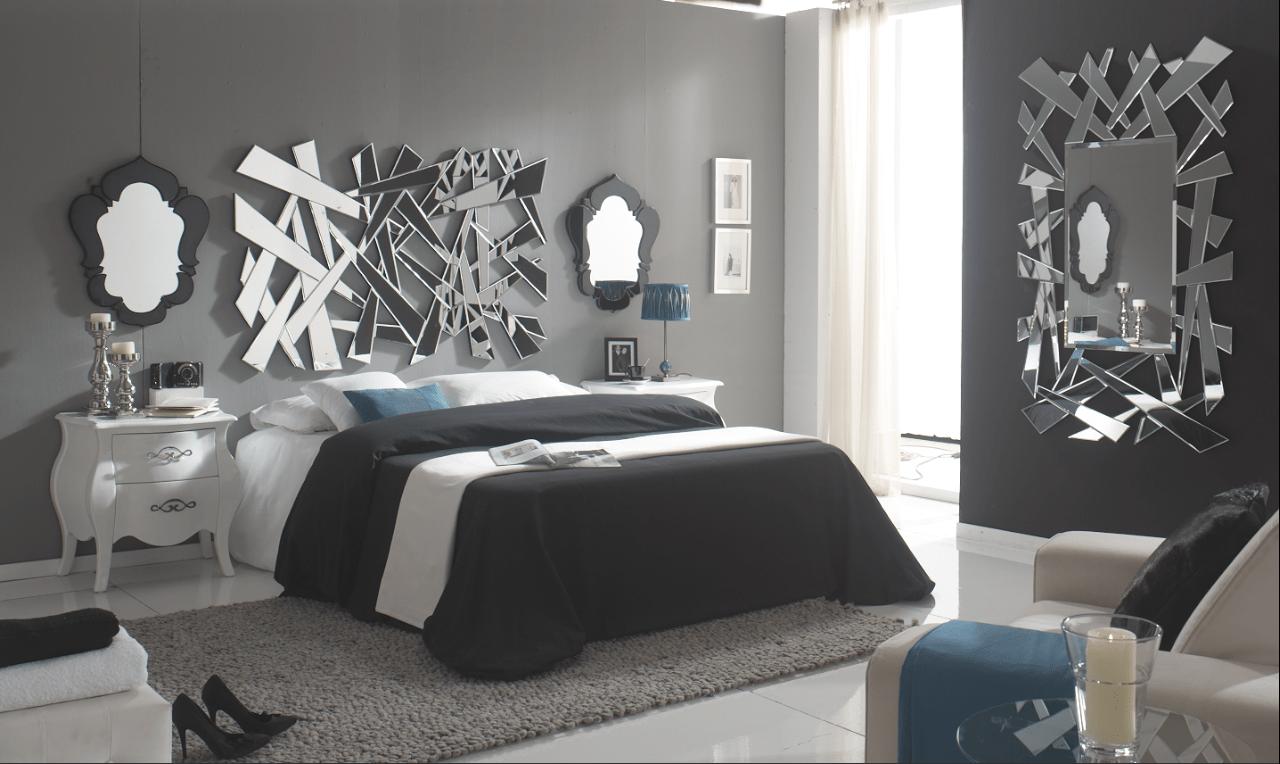 Gu a de decoraci n con espejos lamparas sevilla - Como decorar cabeceros de cama ...
