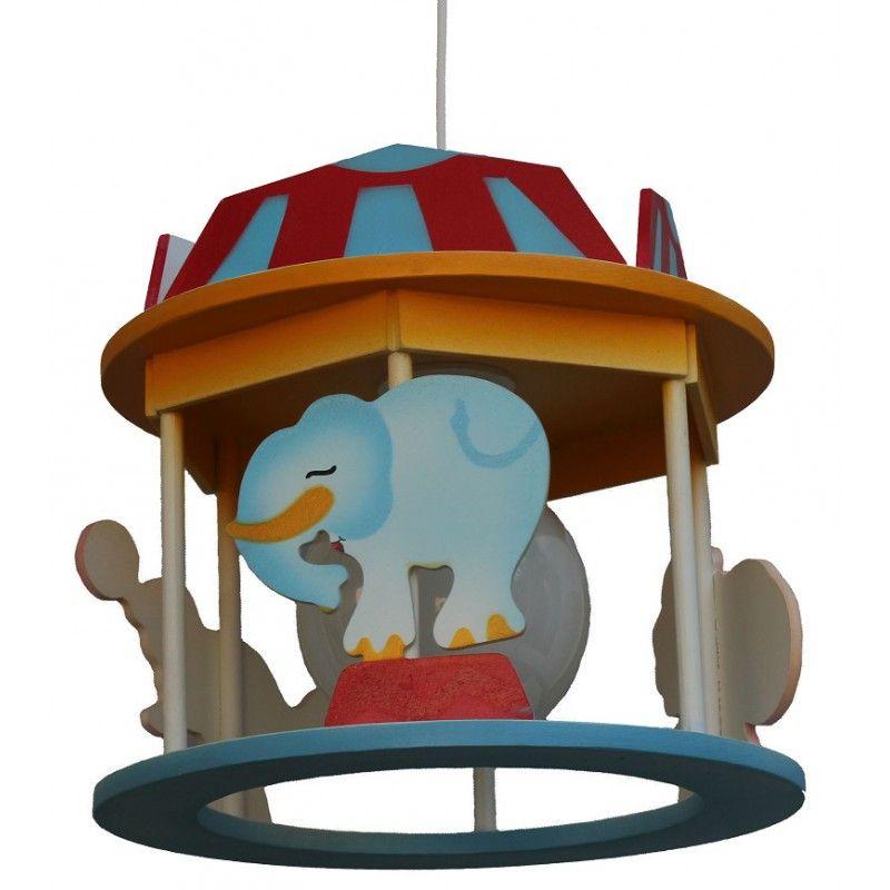 lámpara circo