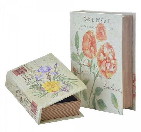 cajas decorativas libro