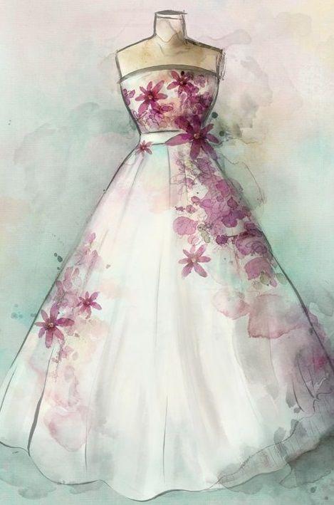 Cuadros vestido