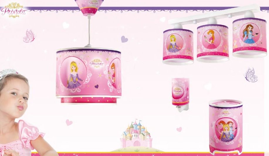 luminarias Princesas disney