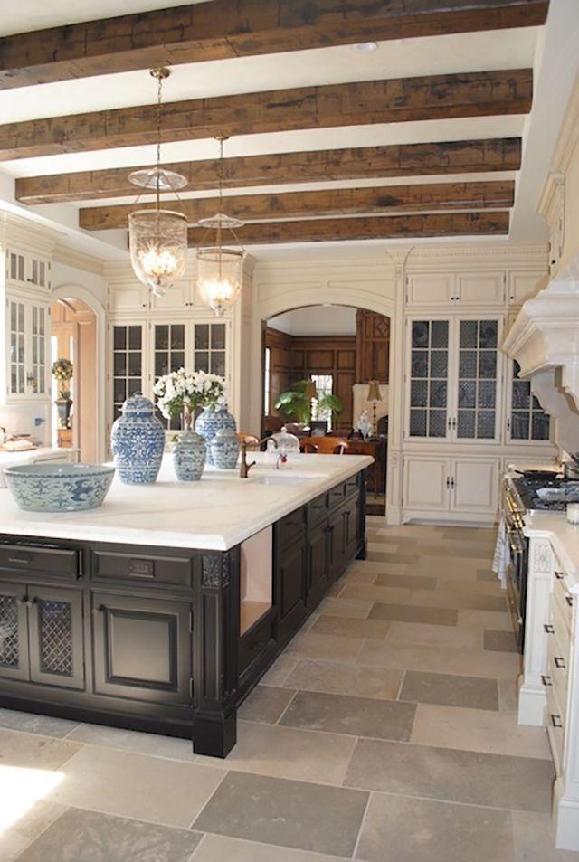 lamparas de techo estilo rústico para cocina
