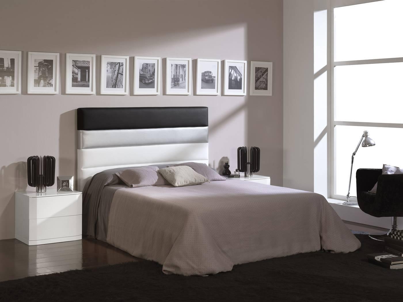 Cabeceros de cama tapizados lamparas sevilla for Cabecero cama 90 blanco