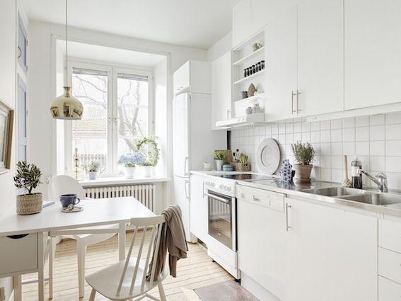 ideas para iluminar cada zona de la cocina