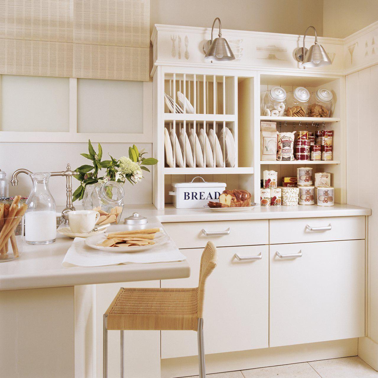 Ideas para iluminar cada zona de la cocina lamparas sevilla for Despensas de cocina a medida