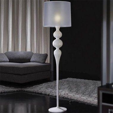 lampara de pie lena