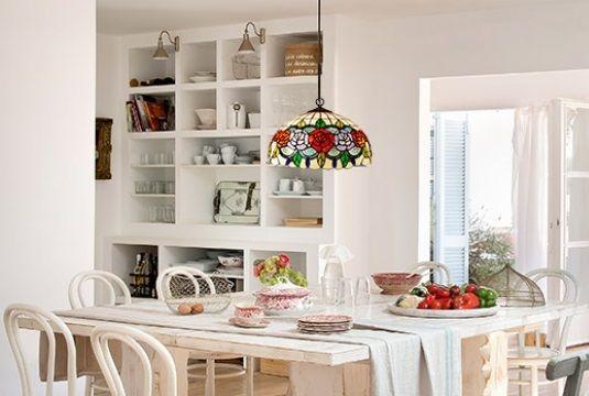 Ltimas tendencias para iluminar la cocina lamparas sevilla - Lamparas para cocinas ...