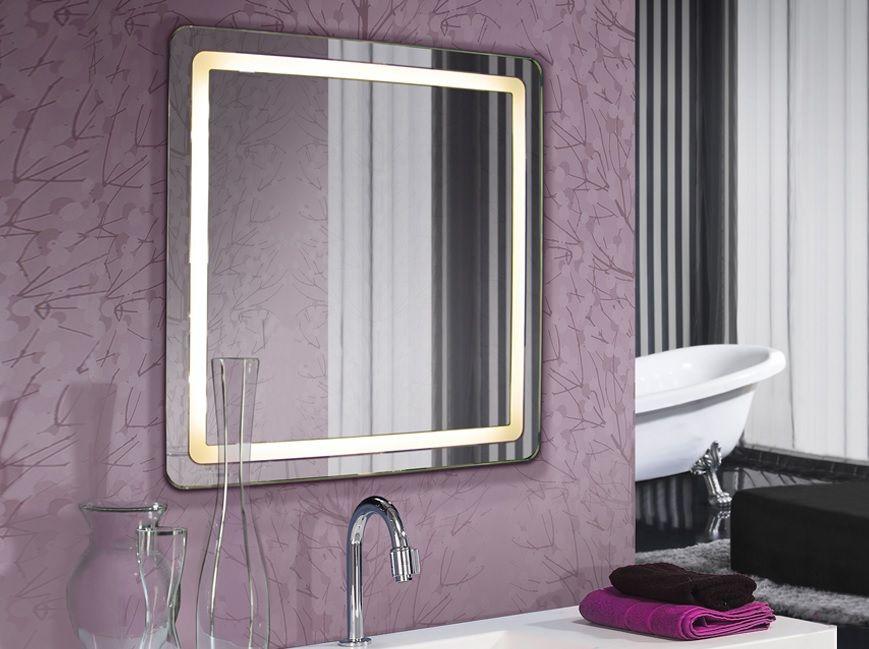 Espejos led para el ba o sofisticados reflejos - Lamparas para espejos ...