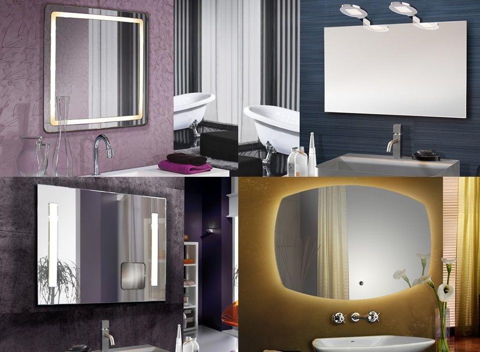 Espejos LED para el Baño, Sofisticados Reflejos.