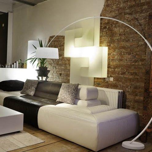 lampara de pie de salon arco