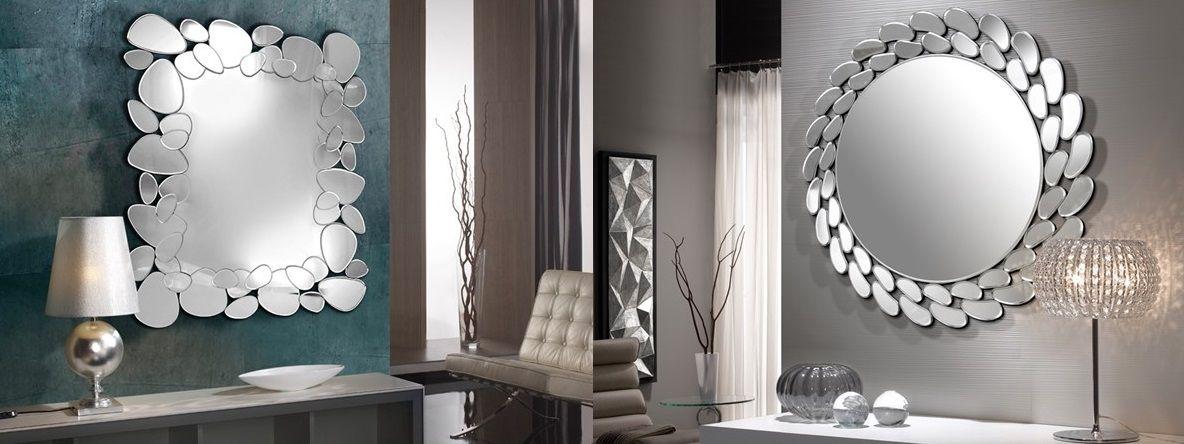 Espejos de Schuller Iluminación con Molduras Espejadas