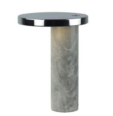 lampara de mesa de marmol