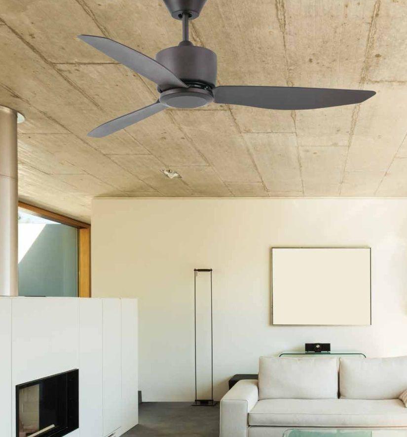 ventiladores de techo sin luz