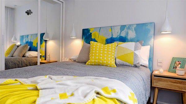 Pistas para iluminar tu dormitorio con estilo lamparas - Mesitas de noche colgantes ...
