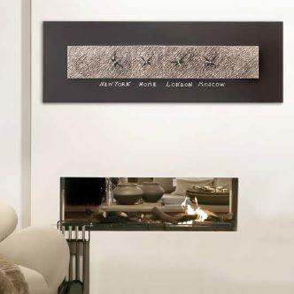 decoración con relojes de pared de diseño