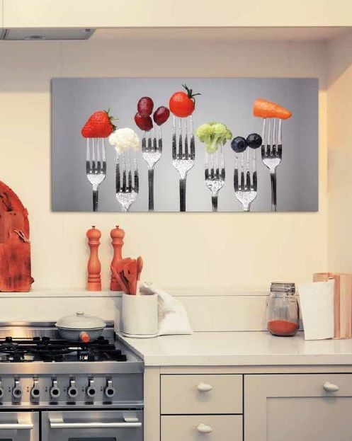 Cuadros para la cocina est n a la ltima lamparas sevilla for Articulos cocina originales