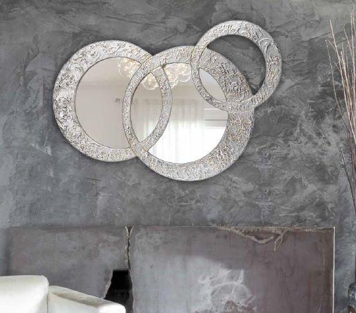 Espejo pan de plata