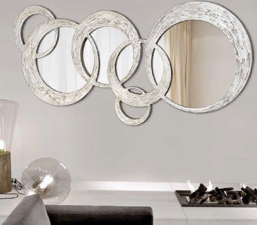 Consejos para decorar con espejos lamparas sevilla Decoracion de salas con espejos en la pared